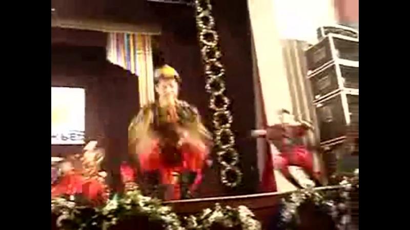 Танец Сороконожка