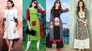 Top Beautiful Kurta Kurti Designs Kurta Kurti Salwar Suits Designs 2018