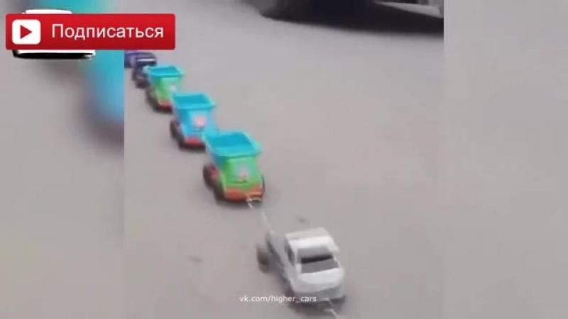 Приколы на дороге наши водители самые уникальные во всем мире. Только они так могут...