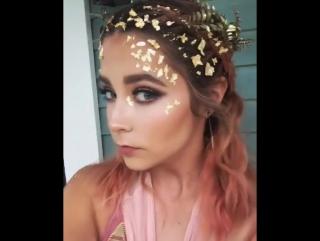 «#athena #makeupbyme #halloween2017#details»