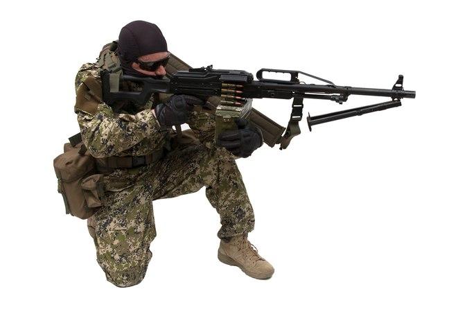 Тактический ремень пулемётчика ПКМ ПЕЧЕНЕГ