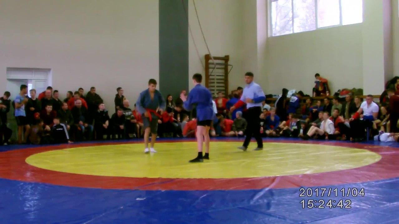 ....... SamboMD 2017 * Campionatul R.Moldova (CADETI) 04.11.2017