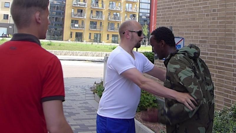 Hjältemodig fotograf griper rånare i Malmö