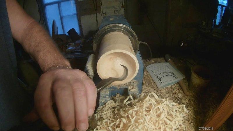 безопасный метод точения токарным крючком