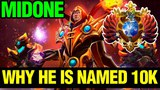 Why He Is Named &ampquotThe 10k Player&ampquot - Midone Invoker 7.12 PUDGE ARCANA GIVEAWAY- Dota 2