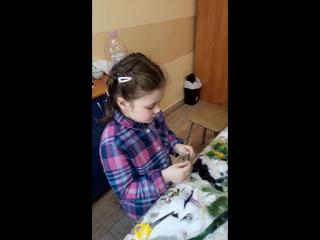 Детский МК по живописи шерстью