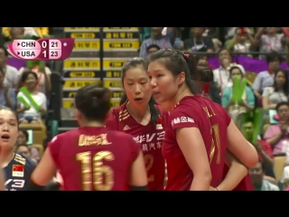 Epic Zhu dig for China - FIVB World Grand Prix