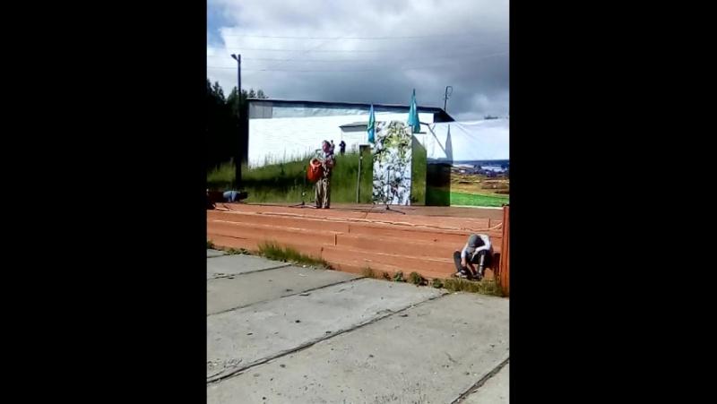 Брат Илья поёт на день ВДВ 02.08.2017 год!)