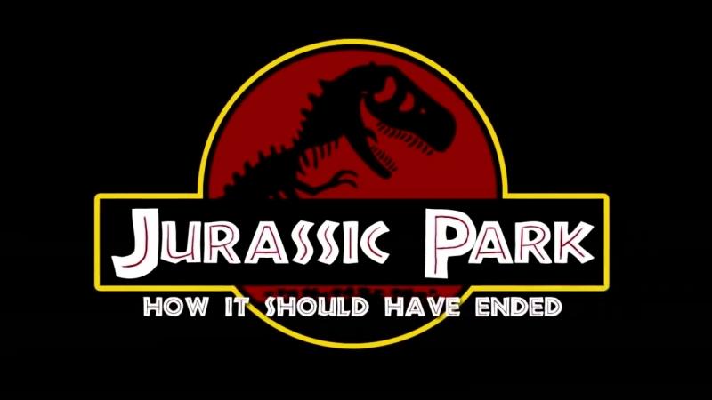 Как Следовало Закончить Фильм Парк Юрского периода
