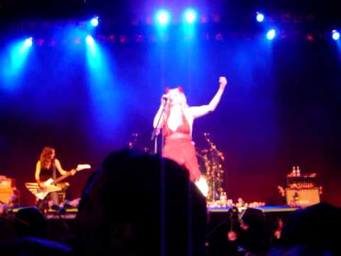 Courtney Love and the Chelsea House of Rising Sun live Wiltern 2004