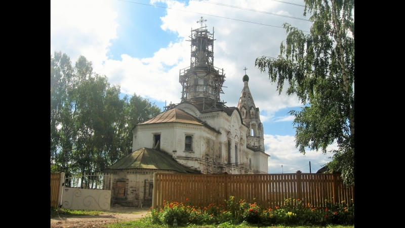Возрождение Леонтьевского храма