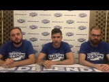 Defend Europe 1st Press conference - Fake news and state of mission C-Star