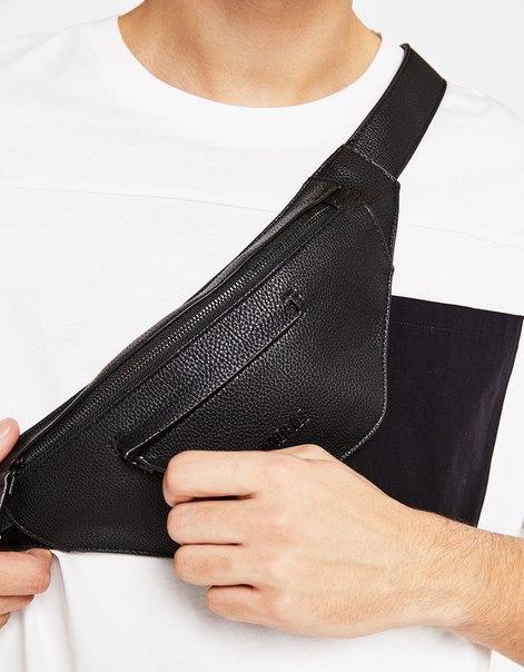 Поясная сумка из искусственной кожи