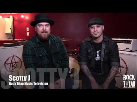 MUSHROOMHEAD Waylon Reavis ROCK TITAN TV Interview with Scotty J