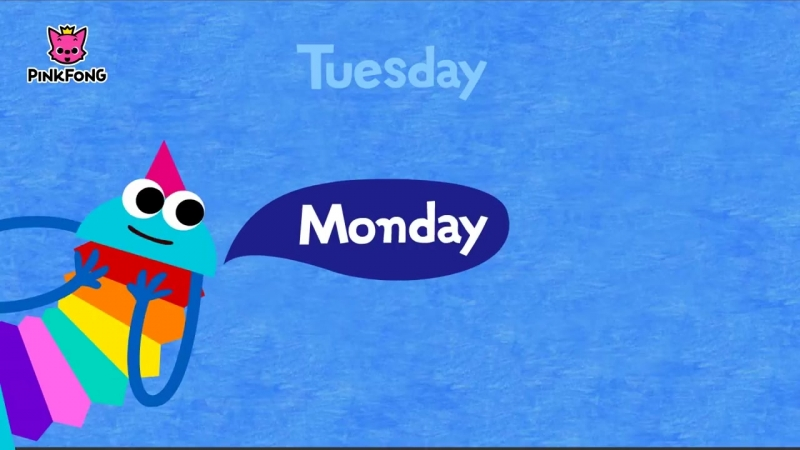 Seven Days _ Days of the Week Song _ Word Power _ PINKFONG Songs for Children