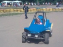 Driving buggy in Kuzminki park. LGBT TRAVELS © Copyright.