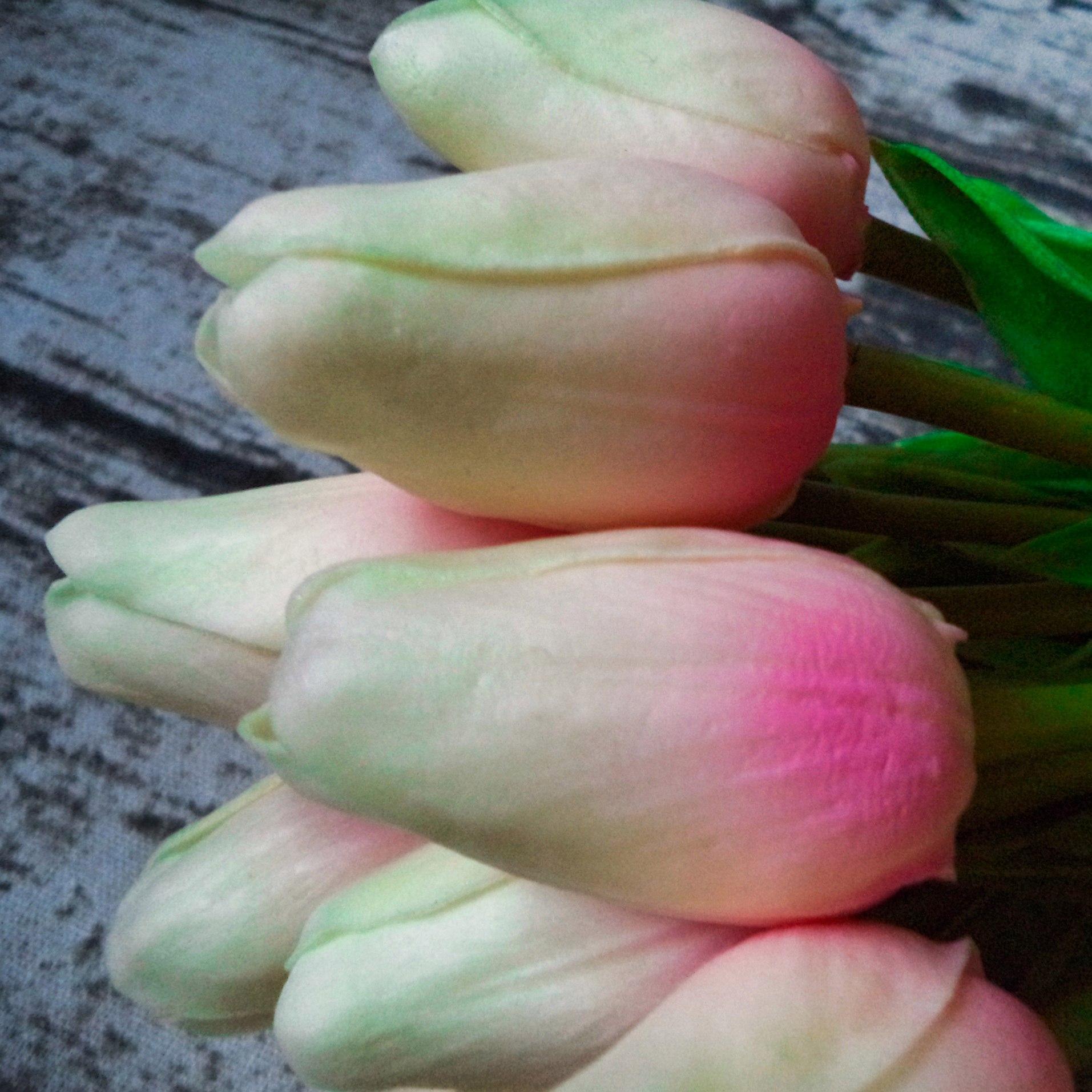 Обзор на шикарный буке тюльпанов из магазина Homonic