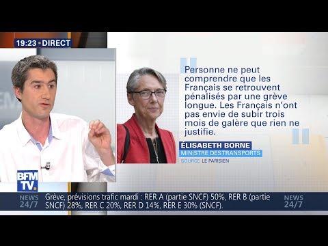 F. Ruffin Furieux, Démonte Macron et Soutient la Grève de la SNCF 01/04