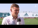 """Kroos: """"Estoy muy feliz porque juego en el mejor club del mundo"""""""