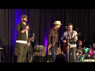 Jason Manns, Richard Speight Jr. and Rob Benedict (#SPNORL,19/01/18) 3