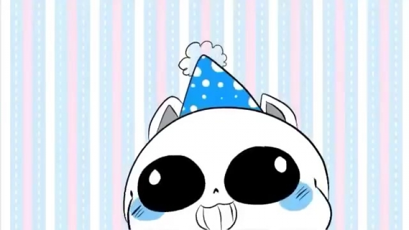 Theres A Cat licking Your Birthday Cake_Undertale Animation