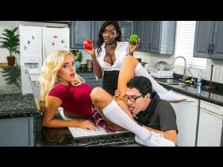 Nanny Adventures Naomi Woods, Osa Lovely & Xander Corvus [ Babysitter, Big Tits, Ebony, Natural Tits, Wife, New Porn 2017]