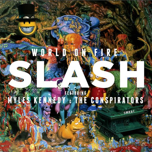 Slash альбом World On Fire