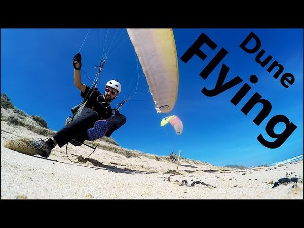 FreeStyle Dune Flying | Paragliding