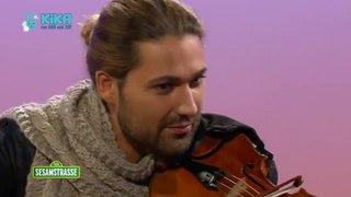 Sesame Street Bert and Ernie with David Garrett Crossover Violinist on german children TV show