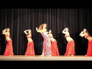Групповой танец вместе с Sadie Baladi 2018