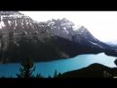 КАНАДА Озеро Пейто CANADA Lake Peyto