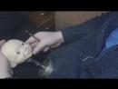 лепка лица шарн куклы ускорено видео
