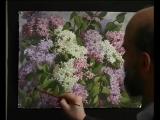 Цветы акварелью - Рисуем Сирень. Андрияка С.Н.
