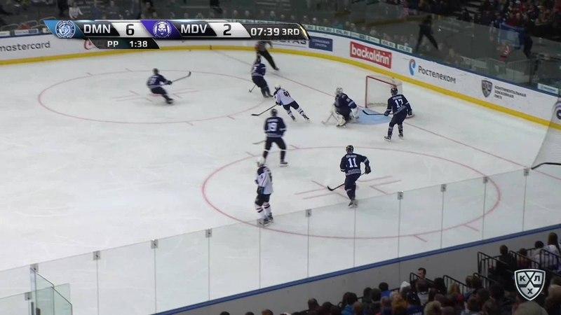 Моменты из матчей КХЛ сезона 17/18 • Удаление. Паре Франсис (Медвешчак) удален на 2 минуты за удар клюшкой 11.12