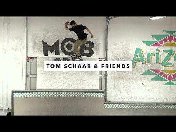 Afternoon in the Park: Tom Schaar and Heimana Reynolds | TransWorld SKATEboarding
