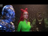Poison Ivy and Bane in prison at Mr. Freeze Batman &amp Robin