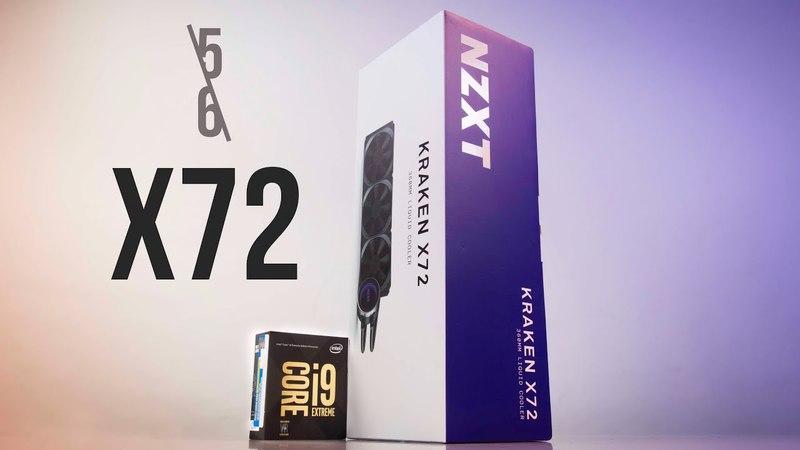 Khui Hộp NZXT Kraken X72 Quái Vật AiO Trong 3 Phút   HANOICOMPUTER