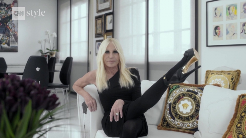 CNN Style A Tribute: Donatella Versace - Narrated by Lady Gaga (Gagavision.net)