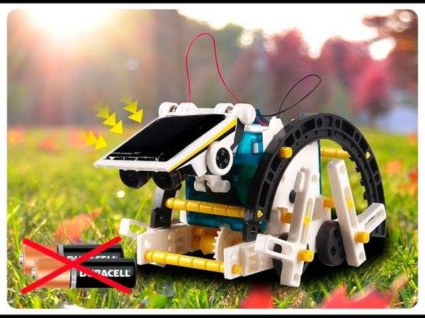 Робот-конструктор Solar Robot Солнечный робот 14в1