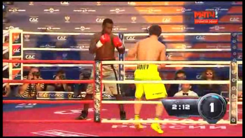 Бокс на Красной площади.Джейсон Минда vs Магомед Мадиев