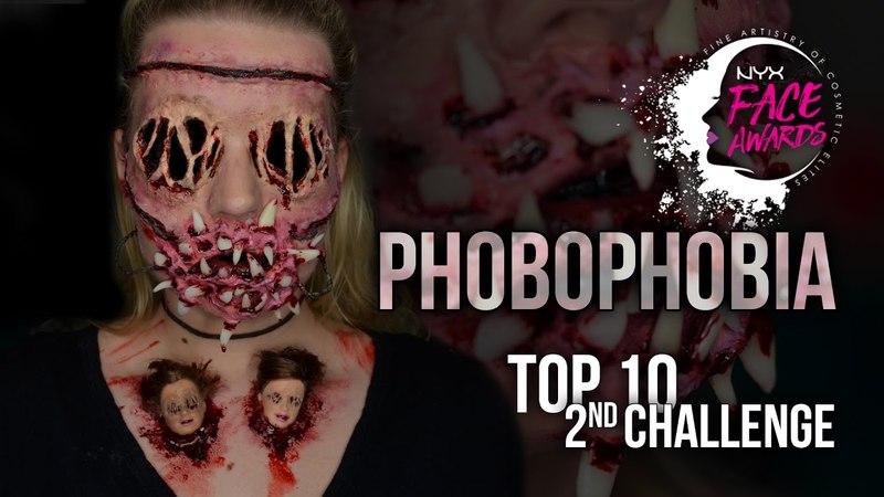 PHOBOPHOBIA | Nyx Professional Makeup NL Face Awards 2017 | AMANDAREALIZE
