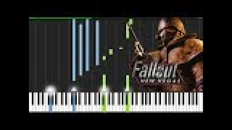 Main Theme - Fallout: New Vegas [Piano Tutorial] (Synthesia) Mr.Meeseeks Piano