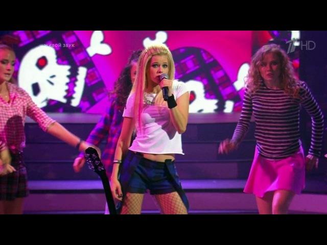Катерина Шпица. Avril Lavigne— «Girlfriend».Точь-в-точь. Третий сезон. Фрагмент выпуска от13.12.2015
