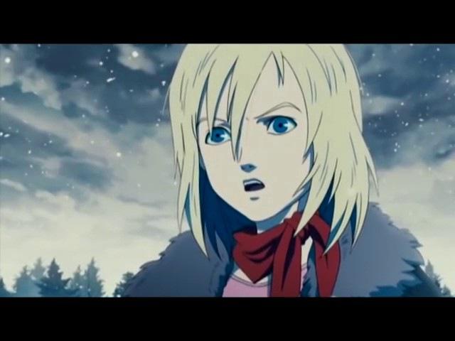 Песня Прекрасное Далёко в японском мульте.