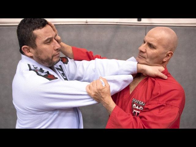 SELF DÉFENSE MMA MÊME COMBAT !
