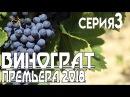 Премьера 2018 - Виноград 3 серия сериал, мелодрама