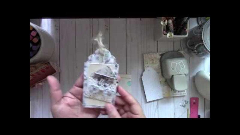 WRMK Mini Envelope Punch Board ~ Mini Bows