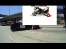 MotorCop MotoVlog ~ The Stuck Honker ~ Push Bars Are Rad!