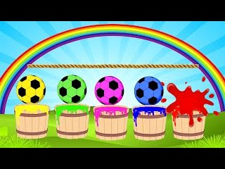 Учим цвета вместе Познавательные мультики для малышей Цветные мячики