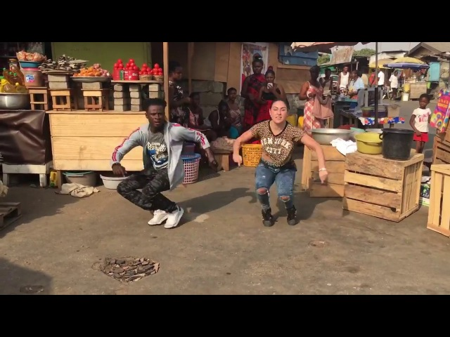 E-Flex Kasia Jukowska || Azonto Dance || Dj flex_ Jwe x solo (afrobeat freestyle remix)